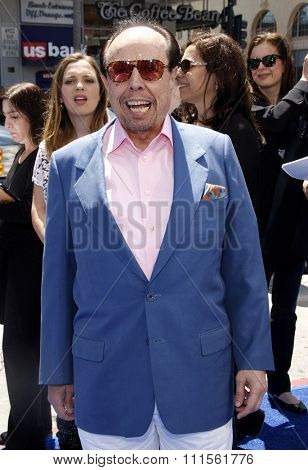 HOLLYWOOD, CA - APRIL 10, 2011: Sergio Mendes at the Los Angeles premiere of 'Rio' held at the Grauman's Chinese Theater in Hollywood, USA on April 10, 2011.