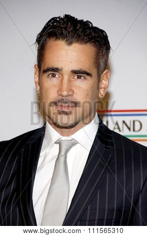LOS ANGELES, CA - FEBRUARY 23: Colin Farrell at the 7th Annual
