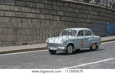 Old Soviet vehicle Moskvitch 403