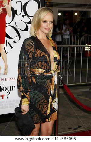 WESTWOOD, CA - SEPTEMBER 19, 2011: Marley Shelton at the Los Angeles premiere of 'What's Your Number?' held at the Westwood Village Theater in Westwood, USA on September 19, 2011.