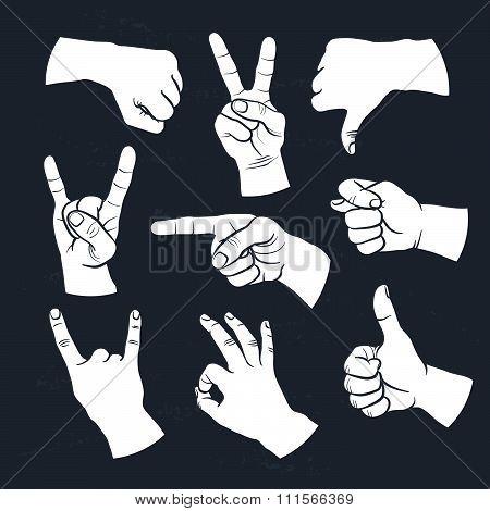 Human gestures