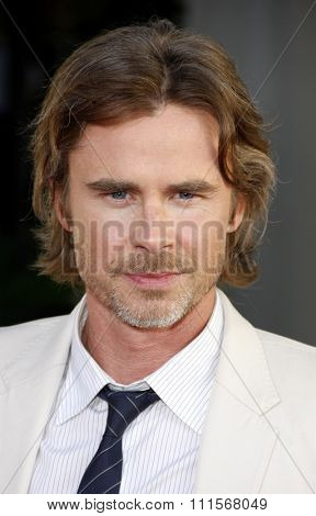 HOLLYWOOD, CA - JUNE 21, 2011: Sam Trammell at the HBO's season 4 premiere of 'True Blood' held at the ArcLight Cinemas in Hollywood, USA on June 21, 2011.