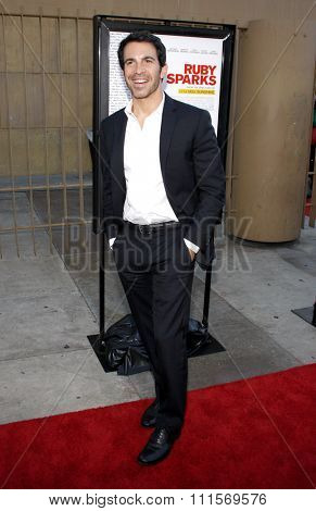 HOLLYWOOD, CA - JULY 19, 2012: Chris Messina at the Los Angeles premiere of 'Ruby Sparks' held at the Egyptian Theatre in Hollywood, USA on July 19, 2012.