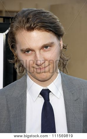 HOLLYWOOD, CA - JULY 19, 2012: Paul Dano at the Los Angeles premiere of 'Ruby Sparks' held at the Egyptian Theatre in Hollywood, USA on July 19, 2012.