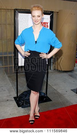 HOLLYWOOD, CA - JULY 19, 2012: Deborah Ann Woll at the Los Angeles premiere of 'Ruby Sparks' held at the Egyptian Theatre in Hollywood, USA on July 19, 2012.