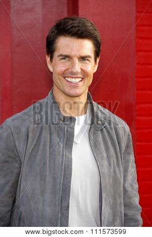 HOLLYWOOD, CA - JUNE 08, 2012: Tom Cruise at the Los Angeles premiere of 'Rock of Ages' held at the Grauman's Chinese Theatre in Hollywood, USA on June 8, 2012.