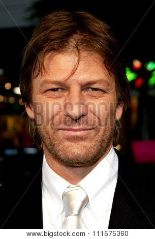 HOLLYWOOD, CA - OCTOBER 10, 2005: Sean Bean at the Los Angeles premiere of 'North Country' held at the Grauman's Chinese Theatre in Hollywood, USA on October 10, 2005.