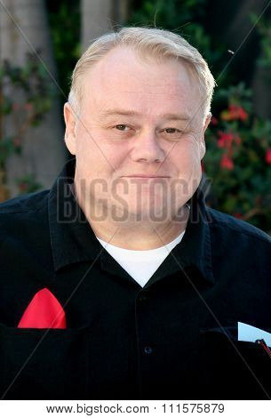 HOLLYWOOD, CA - OCTOBER 05, 2005: Louie Anderson at the remembering Rodney Dangerfield held at at the home of Joan Dangerfield in Hollywood, USA on October 5, 2005.