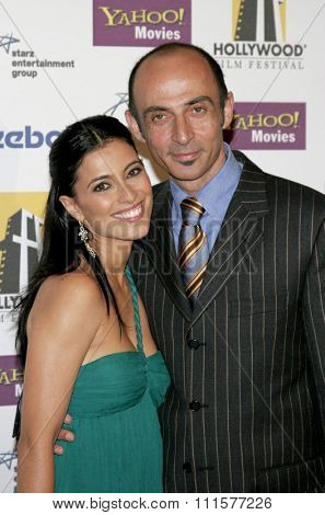 BEVERLY HILLS, CA - OCTOBER 24, 2005: Bahar Soomekh and Shaun Toub at the 2005 Hollywood Film Festival Awards Gala Ceremony held at the Beverly Hilton Hotel in Beverly Hills, USA on October 24, 2005.