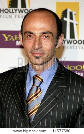 BEVERLY HILLS, CA - OCTOBER 24, 2005: Shaun Toub at the 2005 Hollywood Film Festival Awards Gala Ceremony held at the Beverly Hilton Hotel in Beverly Hills, USA on October 24, 2005.