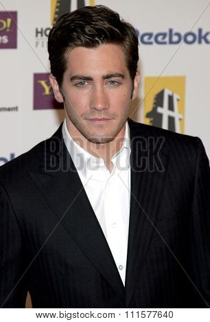 BEVERLY HILLS, CA - OCTOBER 24, 2005: Jake Gyllenhaal at the 2005 Hollywood Film Festival Awards Gala Ceremony held at the Beverly Hilton Hotel in Beverly Hills, USA on October 24, 2005.