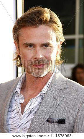 HOLLYWOOD, CA - MAY 30, 2012: Sam Trammell at the HBO's 'True Blood' season 5 premiere held at the ArcLight Cinemas in Hollywood, USA on May 30, 2012.