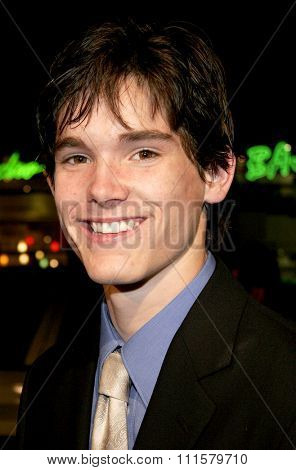HOLLYWOOD, CA - FEBRUARY 02, 2006: Stephan Bender at the World premiere of 'Firewall' held at the Grauman's Chinese Theatre in Hollywood, USA on February 2, 2006.