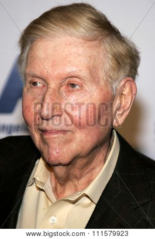 BEVERLY HILLS, CA - NOVEMBER 20, 2006: Sumner Redstone at the 2006 Los Angeles Free Clinic Annual Dinner Gala held at the Beverly Hilton Hotel in Beverly Hills, USA on November 20, 2006.