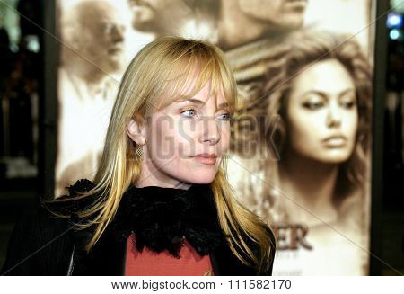 HOLLYWOOD, CA - NOVEMBER 16, 2004: Rebecca De Mornay at the Los Angeles premiere of 'Alexander' held at the Grauman's Chinese Theater in Hollywood, USA on November 16, 2004.