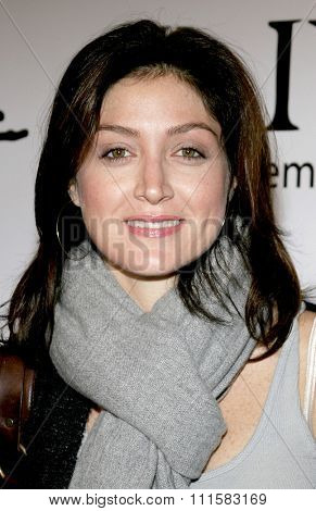 November 17, 2005 - Beverly Hills - Sasha Alexander at the Paige Premium Denim Party at the Paige Premium Denim Flagship Store in Beverly Hills, California United States.