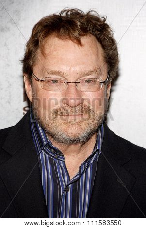 HOLLYWOOD, CA - JANUARY 10, 2012: Stephen Root at the season 2 premiere of FX's 'Justified' held at the DGA Theater in Hollywood, USA on January 10, 2012.