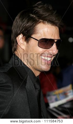 HOLLYWOOD, CA - MAY 04, 2006: Tom Cruise at the Los Angeles premiere of 'Mission: Impossible 3' held at the Grauman's Chinese Theatre in Hollywood, USA on May 4, 2006.