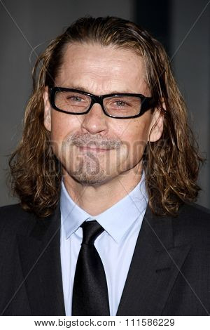 HOLLYWOOD, CALIFORNIA - August 30, 2011. Kurt Sutter at the Season 4 premiere of FX Network's