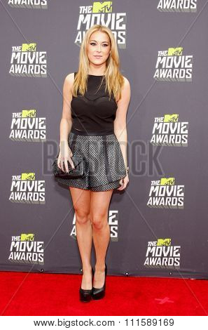 CULVER CITY, CA - APRIL 14, 2013: Alexa Vega at the 2013 MTV Movie Awards held at the Sony Pictures Studios in Culver City, CA on April 14, 2013.