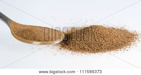 Cinnamon Powder Close Up