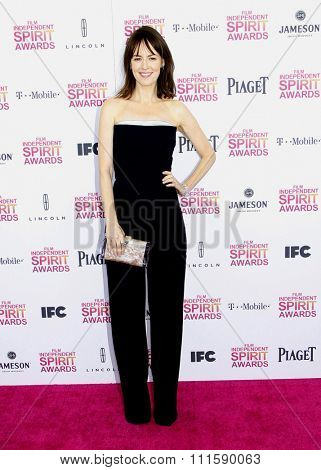 Rosemarie DeWitt at the 2013 Film Independent Spirit Awards held at the Santa Monica Beach in Los Angeles, United States on February 23, 2013.