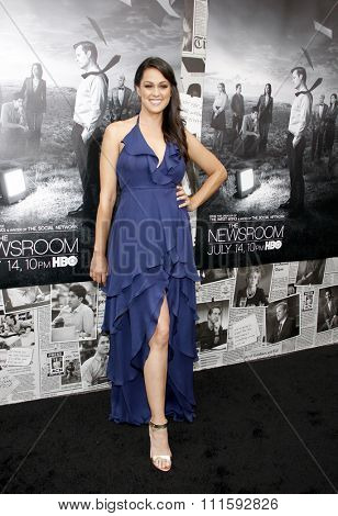 Kelen Coleman at the HBO's Season 2 Premiere Of