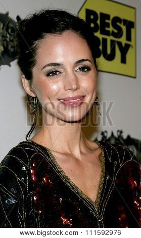 10/17/2005. Eliza Dushku attends the Usher Host Truth Tour DVD Launch Party at the Hollywood Roosevelt Hotel in Hollywood, CA, USA.
