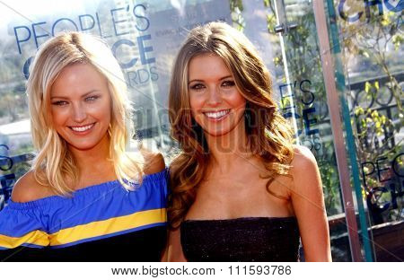 Malin Akerman and Audrina Patridge at the People's Choice Awards Press Conference held at the London Hotel, California, United States on November 9, 2010.