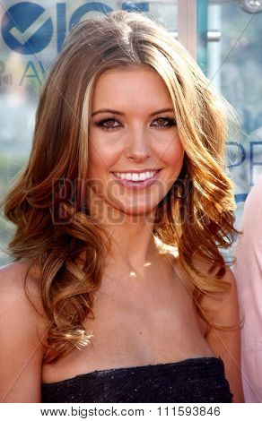 Audrina Patridge at the People's Choice Awards Press Conference held at the London Hotel in West Hollywood, USA on November 9, 2010.