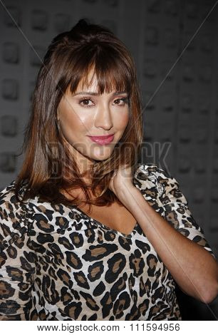 Fernanda Romero at the Los Angeles premiere of FX's 'It's Always Sunny In Philadelphia' held at the ArcLight Cinemas in Hollywood, USA on September 13, 2011.