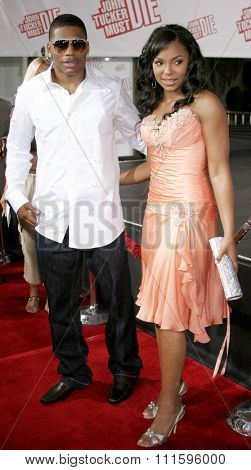 Ashanti and Nelly at the Los Angeles premiere of 'John Tucker Must Die' held at the Grauman's Chinese Theater in Hollywood, USA on July 25, 2006.