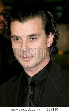 HOLLYWOOD, CA - FEBRUARY 16, 2005: Gavin Rossdale at the Los Angeles premiere of 'Constantine' held at the Grauman's Chinese Theatre in Hollywood, USA on February 16, 2005.