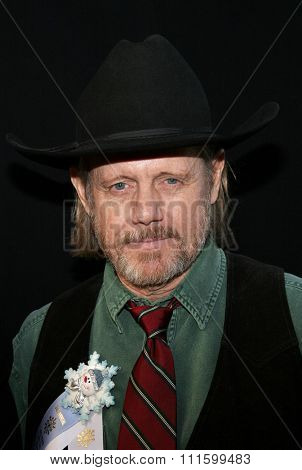 HOLLYWOOD, CALIFORNIA. November 27, 2005. William Sanderson attends the 2005 Hollywood Christmas Parade at the Hollywood Roosevelt Hotel in Hollywood, California United States.