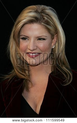 HOLLYWOOD, CALIFORNIA. November 27, 2005. Dayna Devon attends the 2005 Hollywood Christmas Parade at the Hollywood Roosevelt Hotel in Hollywood, California United States.