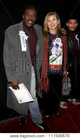 11/27/2005 - Hollywood - Ernie Hudson attends the 2005 Hollywood Christmas Parade at the Hollywood Roosevelt Hotel in Hollywood, California, United States.