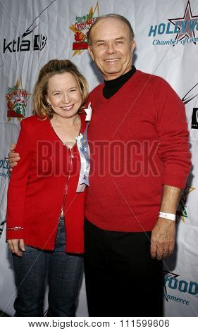 11/27/2005 - Hollywood - Debra Jo Rupp and Kurtwood Smith attend the 2005 Hollywood Christmas Parade at the Hollywood Roosevelt Hotel in Hollywood, California, United States.