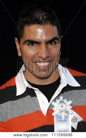 11/27/2005 - Hollywood - Eddie Sotelo attends the 2005 Hollywood Christmas Parade at the Hollywood Roosevelt Hotel in Hollywood, California, United States.