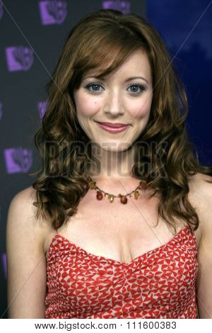 Elizabeth Bogush at The WB Network's 2004 All Star Party- Red Carpet & Party at The Lounge At Astra West in Los Angeles, USA on July 14, 2004.