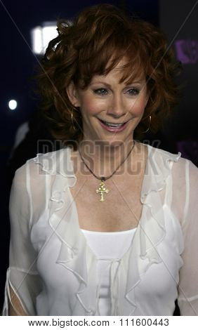 Reba McEntire at The WB Network's 2004 All Star Party- Red Carpet & Party at The Lounge At Astra West in Los Angeles, USA on July 14, 2004.