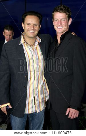Mark Burnett at The WB Network's 2004 All Star Party- Red Carpet & Party at The Lounge At Astra West in Los Angeles, USA on July 14, 2004.