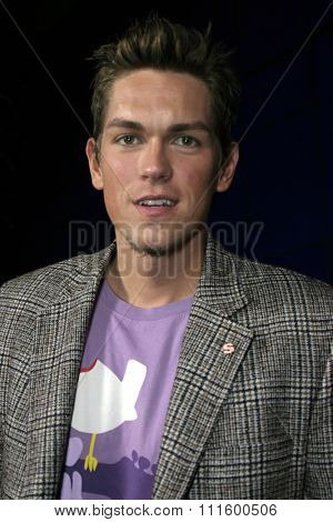 Steve Howey at The WB Network's 2004 All Star Party- Red Carpet & Party at The Lounge At Astra West in Los Angeles, USA on July 14, 2004.