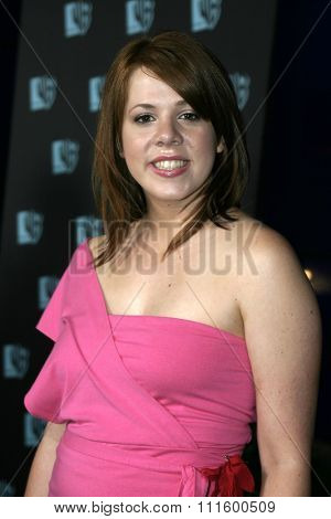 Lynsey Bartilson at The WB Network's 2004 All Star Party- Red Carpet & Party at The Lounge At Astra West in Los Angeles, USA on July 14, 2004.
