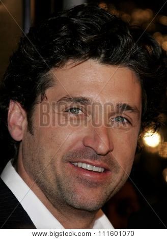 WESTWOOD, CALIFORNIA. January 4, 2007. Patrick Dempsey at the Los Angeles of