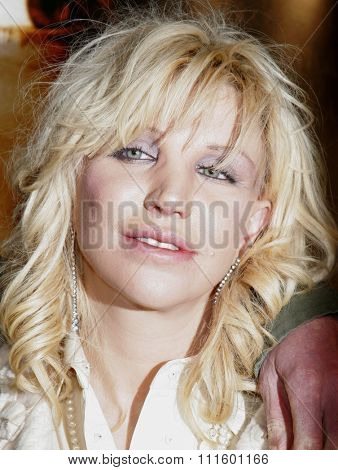 WESTWOOD, CALIFORNIA. January 4, 2007. Courtney Love at the Los Angeles of