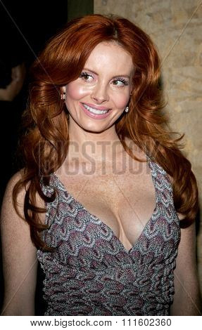 Phoebe Price attends the 56th Annual ACE Eddie Awards held at the Beverly Hilton Hotel in Beverly Hills, California on February 19, 2006.