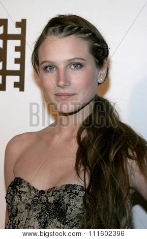 BEVERLY HILLS, CALIFORNIA. February 19, 2006. Dree Hemingway Crisman attends the 56th Annual ACE Eddie Awards held at the Beverly Hilton hotel in Beverly Hills, California United States.