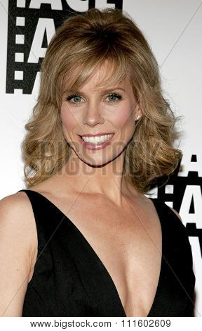 Cheryl Hines attends the 56th Annual ACE Eddie Awards held at the Beverly Hilton Hotel in Beverly Hills, California on February 19, 2006.