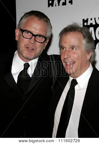 Henry Winkler and Hughes Winborne attend the 56th Annual ACE Eddie Awards held at the Beverly Hilton Hotel in Beverly Hills, California on February 19, 2006.