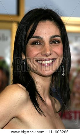 WESTWOOD. CALIFORNIA. April 29, 2005. Annie Parisse attends at the Los Angeles Premiere of